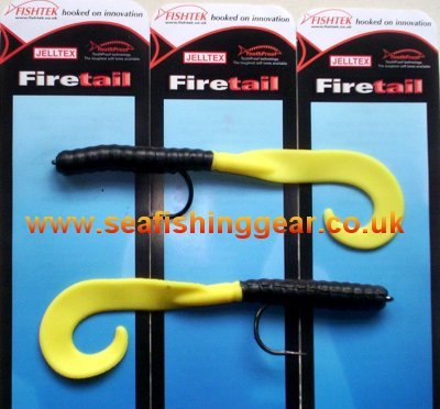 Buy FISHTEK - Fire Tails for Sea Fishing online from SEA FISHING SUPPLIES ONLINE
