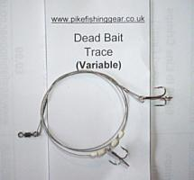 Buy Variable Double No.10 Treble Hook Trace from Seafishinggear