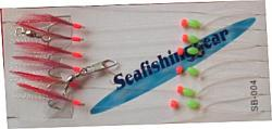 Buy 6 Hook Red Flasher from Seafishinggear