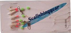 Buy 6 Hook Red Skin from Seafishinggear