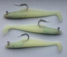Buy 3 x Lumi Eel Long Lead Head Shads from Seafishinggear